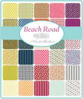 Moda Fabric Precuts - Beach Road by Jen Kingwell - Fat Eighth Bundle