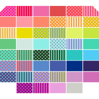Free Spirit Fabrics - All Stars by Tula Pink - Charm Pack