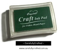 Stamp Ink Pad - Dark Green #IP-13