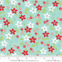 Vintage Holiday - Bonnie & Camille - Aqua   #55167  12