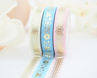 The Pink Room Co - DAISY in BLUE Washi Collection - The Pink Room Co Exclusive Original