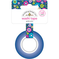 Doodlebug Washi Tape 15mm X 12yd - Garden Party