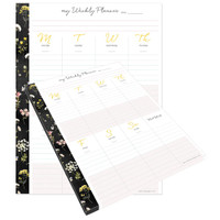 "Webster Pages - The Good Life Composition Planner Pad - Weekly 7.5"" x 9.75"""