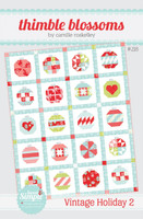 Thimble Blossom Quilt Pattern - Vintage Holiday 2