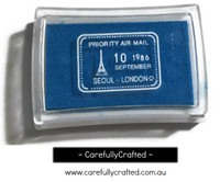 Stamp Ink Pad - Blue #IP-21