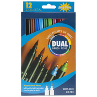 Pro Art - Dual Brush Pen Set 12