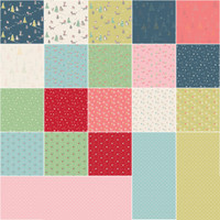 Riley Blake Designs - Fat Quarter Bundle - Winter Tales by Minki Kim