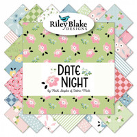 Riley Blake Designs - Fat Quarter Bundle - Date Night by Heidi Staples