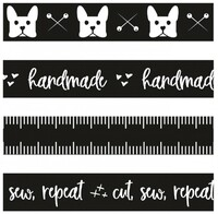 Tattoed Quilter -  Washi Tape - Set of 4