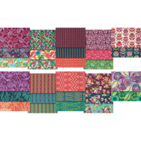 Free Spirit Fabrics - Bright Heart by Amy Butler - Jelly Roll