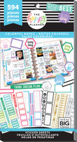Me and My Big Ideas - The Happy Planner - Value Sticker Book - Colorful Boxes (#594)