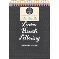 "American Crafts - Kelly Creates Small Brush Workbook 8.5"" x 12.3"""