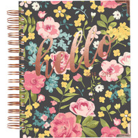 "Carpe Diem - Spiral 17-Month Dated Weekly Planner 7"" x 8.75"" - Hello"