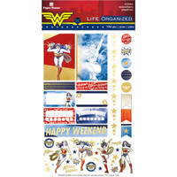 Paper House - Life Organized Planner Stickers - Wonder Woman