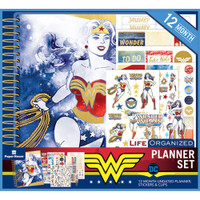 Paper House - Wonder Woman 12-Month Planner Set
