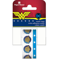 Paper House Licensed Washi Tape - Set of 2 - Wonder Woman