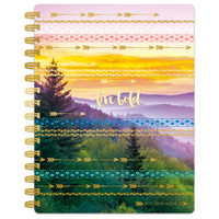 """Paper House - Spiral Bound Planner Dated 7.5"""" x 8.5"""" - Live Bold"""