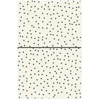 "Carpe Diem - Traveler's Notebook 5"" x 8.25"" - Cream Dot"