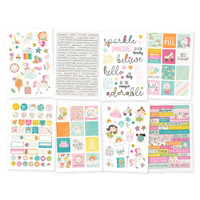 Carpe Diem - Simple Stories - Dream Big - Stickers - 8 Sheets