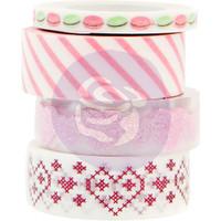 Prima Marketing - Santa Baby - Washi Tape - Set of 4