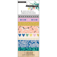 Crate Paper - Maggie Holmes - Willow Lane Washi Tape - Set of 8