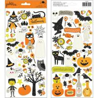 "American Crafts - Pebbles - Spooky Boo Cardstock Stickers 6"" x 12"""