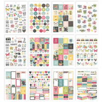 Carpe Diem - Simple Stories - A5 Sticker Book - Hello