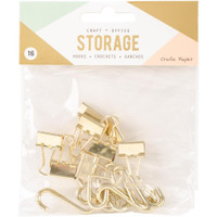 Crate Paper - Wire System Hooks - Gold