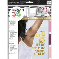Create 365 - Me and My Big Ideas - The Happy Planner - Fitness Extension Pack - BIG