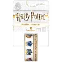 Paper House Licensed Washi Tape - Set of 2 - Harry Potter - House Crests