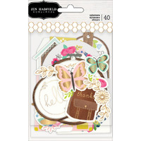 Jen Hadfield - Bright Life Ephemera Cardstock Die-Cuts