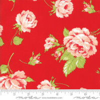 Moda Fabric - Smitten - Bonnie & Camille - Rosy Red #55170 11
