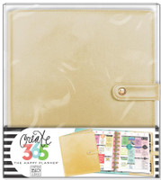 Me and My Big Ideas - The Happy Planner Deluxe Cover -  Gold - CLASSIC