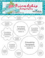Riley Blake Designs - Amanda Herring - Friendship Quilt Templates