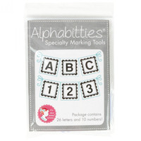 It's Sew Emma - Alphabitties Specialty Marking Tools - Grey
