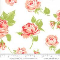 Moda Fabric - Smitten - Bonnie & Camille - Rosy Cream #55170 17