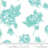 Moda Fabric - Smitten - Bonnie & Camille - Rosy Cream Aqua #55170 22
