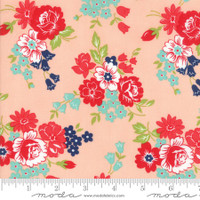 Moda Fabric - Smitten - Bonnie & Camille - Bouquet Blush #55171 13