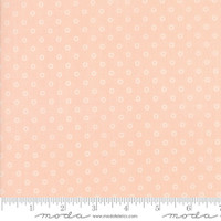 Moda Fabric - Smitten - Bonnie & Camille - Little Darling Dot Blush#55172 13
