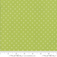 Moda Fabric - Smitten - Bonnie & Camille - Little Darling Dot Green  #55172 16