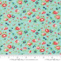 Moda Fabric - Smitten - Bonnie & Camille - Dainty Aqua  #55174 12