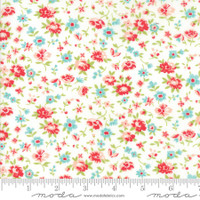 Moda Fabric - Smitten - Bonnie & Camille - Dainty Cream #55174 17