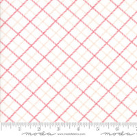 Moda Fabric - Smitten - Bonnie & Camille - Bias Plaid Red #55175 17