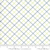 Moda Fabric - Smitten - Bonnie & Camille - Bias Plaid Navy #55175 27