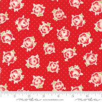 Moda Fabric - Smitten - Bonnie & Camille - Lovely Red #55177 11