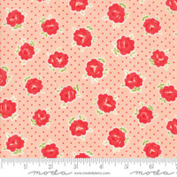 Moda Fabric - Smitten - Bonnie & Camille - Lovely Blush #55177 13