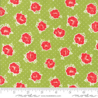 Moda Fabric - Smitten - Bonnie & Camille - Lovely Green #55177 16