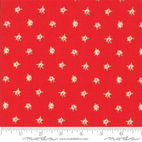 Moda Fabric - Smitten - Bonnie & Camille - Sweetheart Red #55178 11