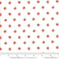 Moda Fabric - Smitten - Bonnie & Camille - Sweetheart Cream  #55178 17