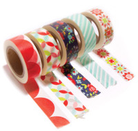 Moda - Smitten by Bonnie & Camille - Washi Tape - Set of 5